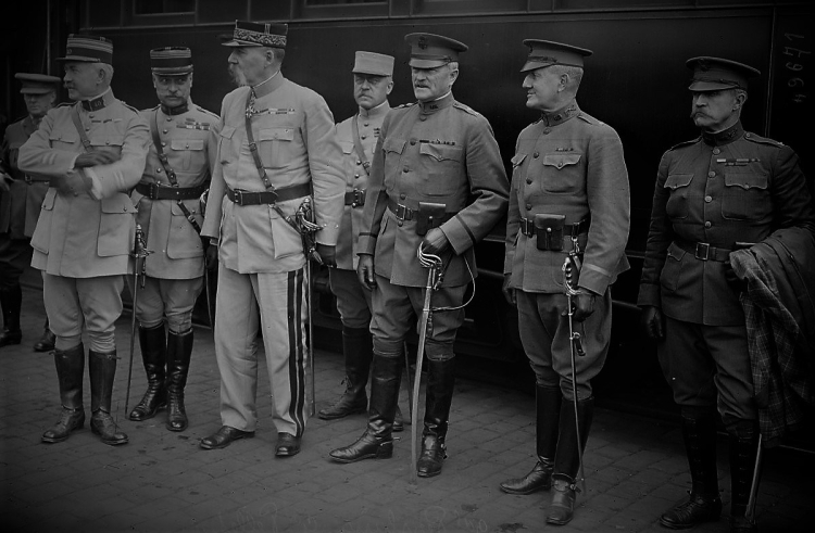 Pershing June 1917 Library of France