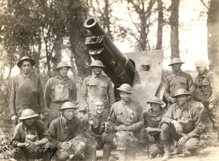 Soldiers artillery portrait