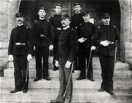 Pershing 1892 Great Photo at UNL with staff sm