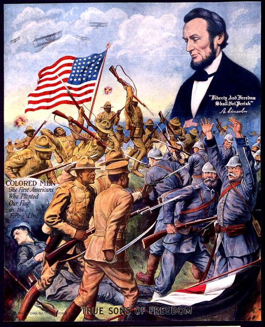 African American recruiting poster