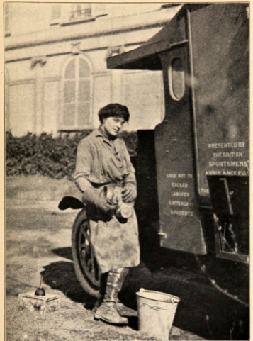 Ambulance_Driver_Mary_Dexter3_Quarters_in_Cugny_France_1917_18