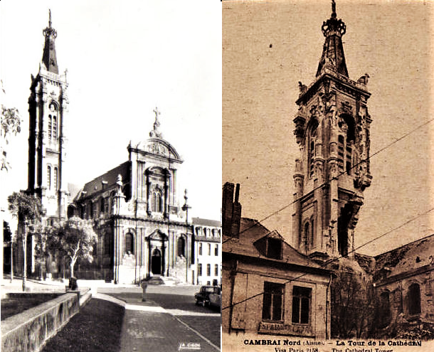 Cambrai Cathedral WWI (2)