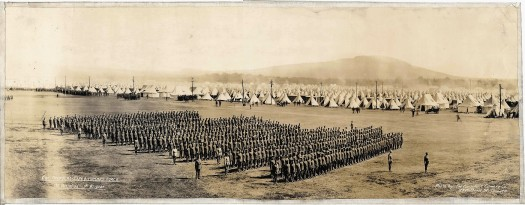Canadian 1st Battalion at Valcartier Canadian War Museum (2)