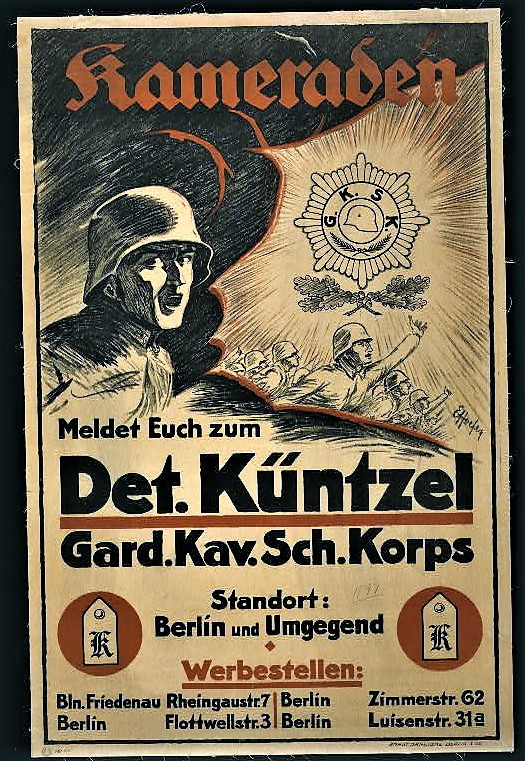 German recruiting poster