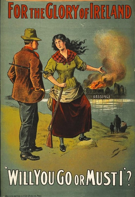 Irish war poster