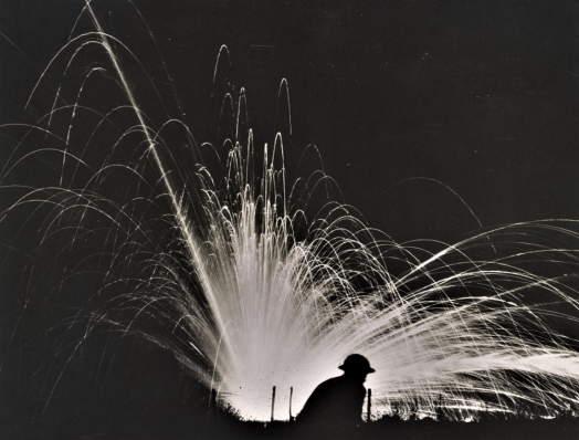 Night attack with phosphorous bombs, Gondrecourt, Aug. 15, 1918a
