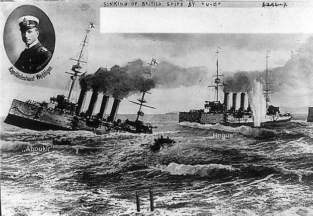Uboat sinking