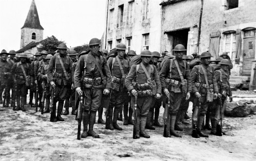 US Troops in France WWI From National Archives and Records Administration