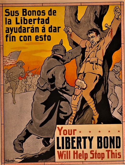 Your liberty bond will stop this