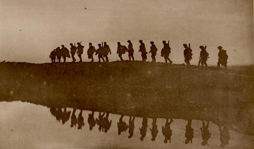 Aussie Troops in Battle of Flanders