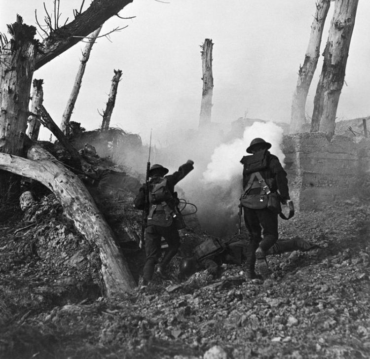 Meuse Argonne soldiers attack