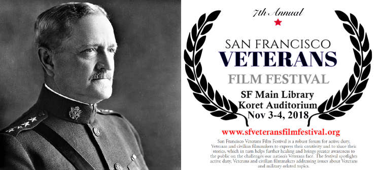 Pershing in SF Vets Film Fest Nov 3