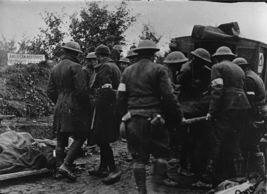 argonne wounded US troops WWI