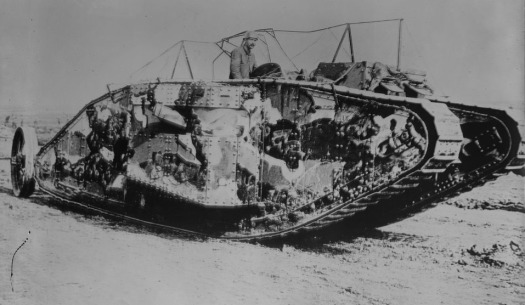 British tank 2 wwi