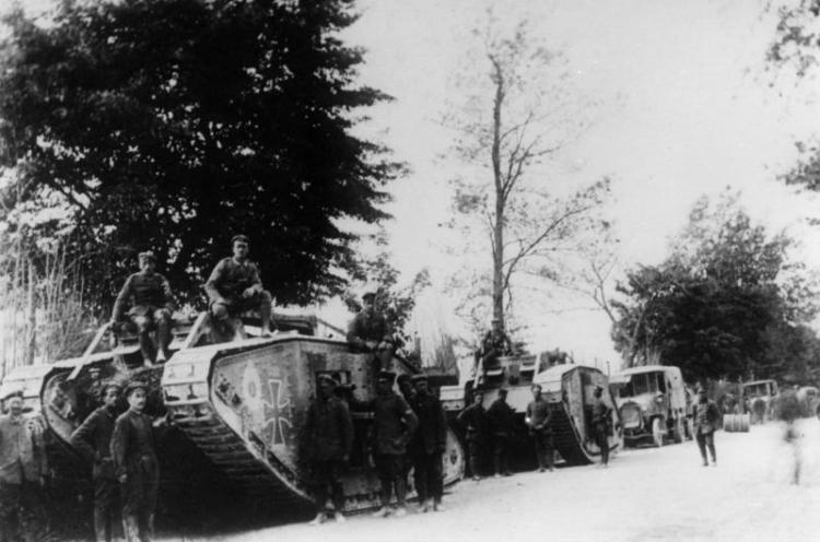 Frankreich, deutsche Panzerschwadron