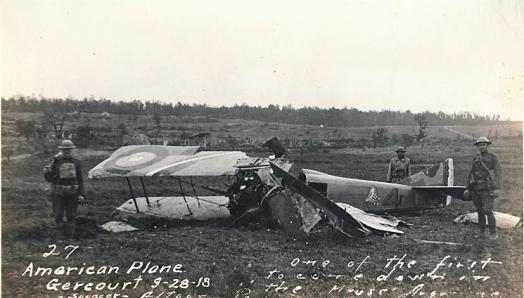 Crashed_American_Plane_Meuse_Argonne
