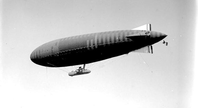 French airship wwi iwm