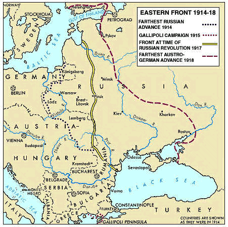 Front Eastern Front Revision World