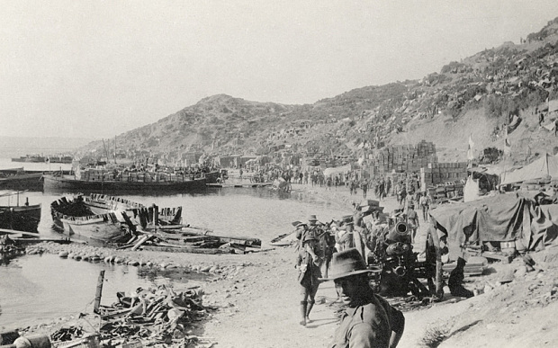 Front Gallipoli The contribution of Anzac (Australian and New Zealand The Telegraph