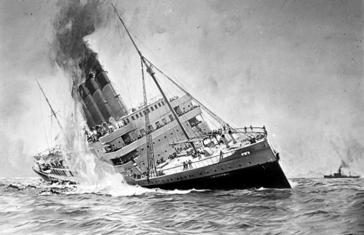 Fronts- Bundesarchiv_DVM_10_Bild-23-61-17,_Untergang_der__Lusitania_