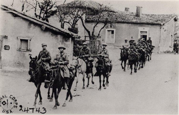 horses wwi 2 cavalry