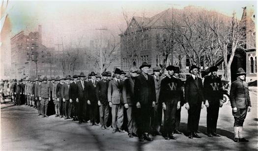 Lincoln WWI recruitsmc