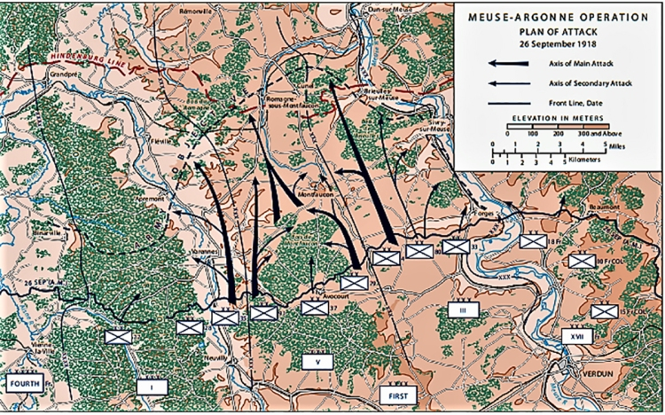 Meuse_Argonne_Attack_Plan_1918