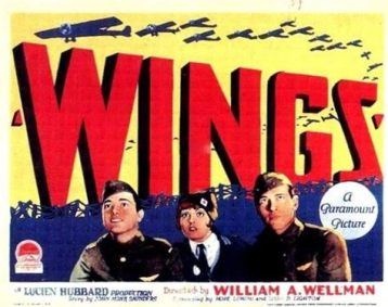 Movie wings