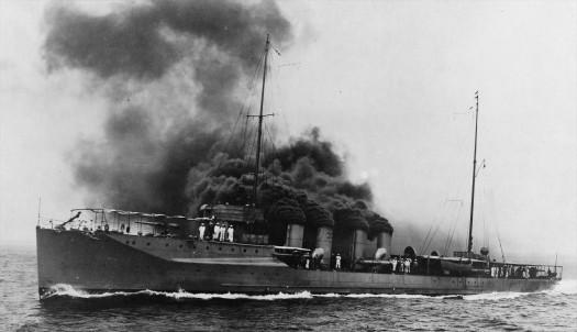 Navy McDougal I (Destroyer No. 54) 1914-1934, 19-N-13085