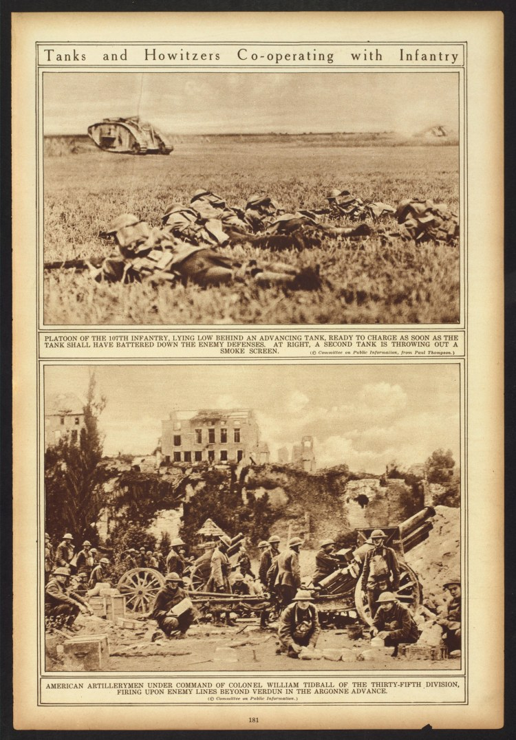 US Troops Meuse Argonne combat 2
