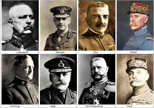 WWI Commanders