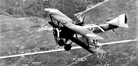WWI spad airplane (2)