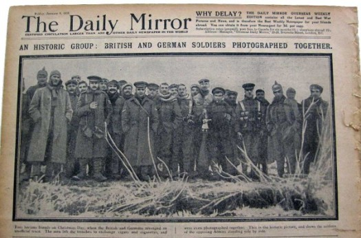 Christmas-Truce_soldiers6_newspaper-e1419269532197